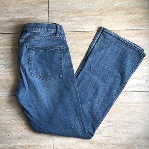 J Crew Bootcur Mid Rise Jeans